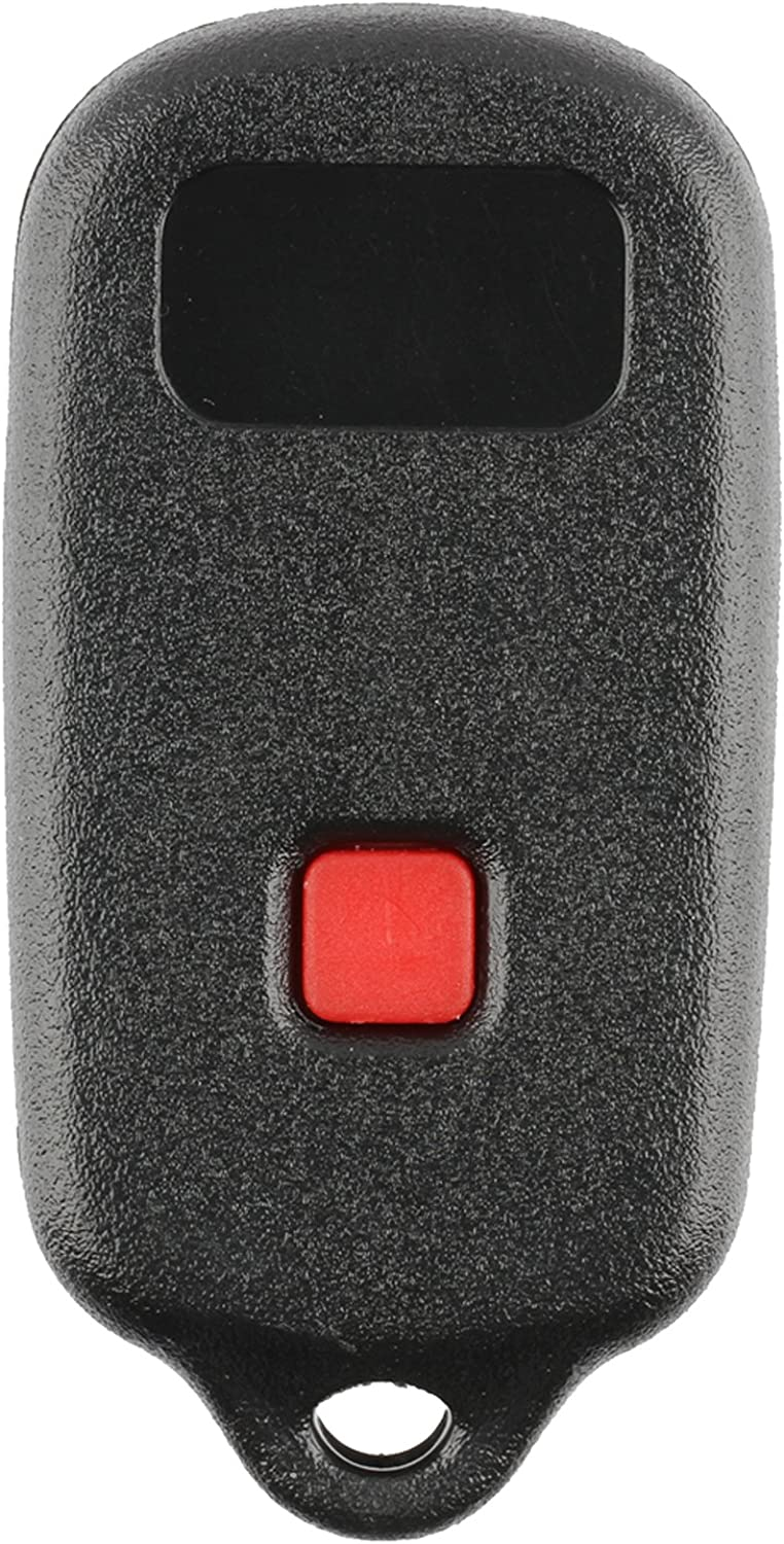 Discount Keyless Replacement Shell Case and Button Pad Compatible with HYQ12BBX 2 Pack HYQ12BAN