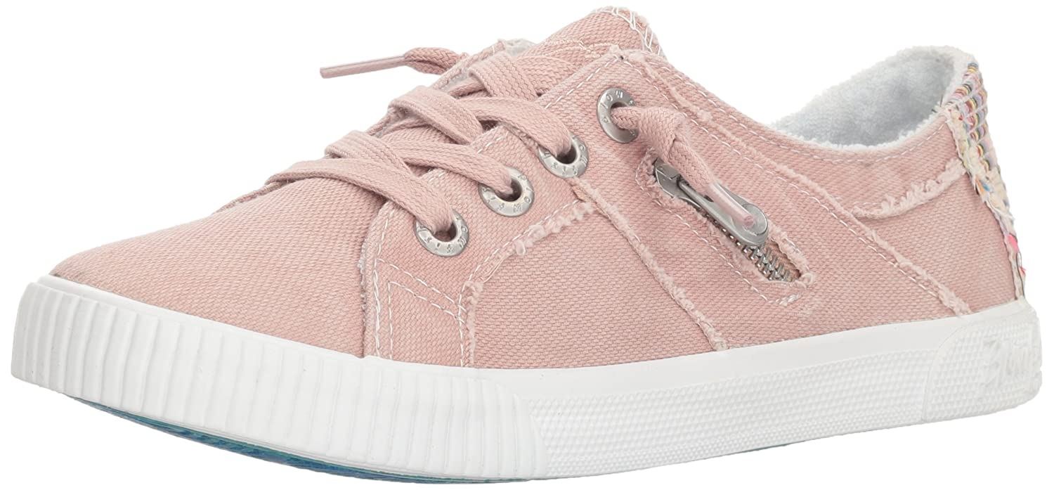 Blowfish Women's Fruit Sneaker B078ZJY4GD 8 M US|Dirty Pink Smoked Oz Canvas