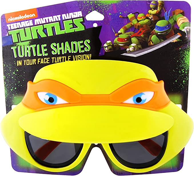 Party Pack 4 Nickelodeon Teenage Mutant Ninja Turtles Kids 100/% UV Sunglasses B