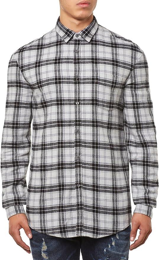 drykorn Bennet Camisa gris M: Amazon.es: Ropa