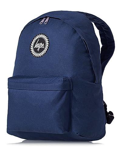 2348eb792a Hype Backpack Bags Rucksack - Women - Men - Plain Navy  Amazon.co.uk   Luggage
