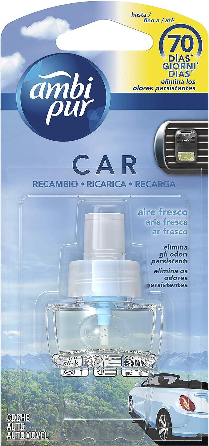 Amazon.es: Ambi Pur Car Aire Fresco Recambio para ambientador de ...