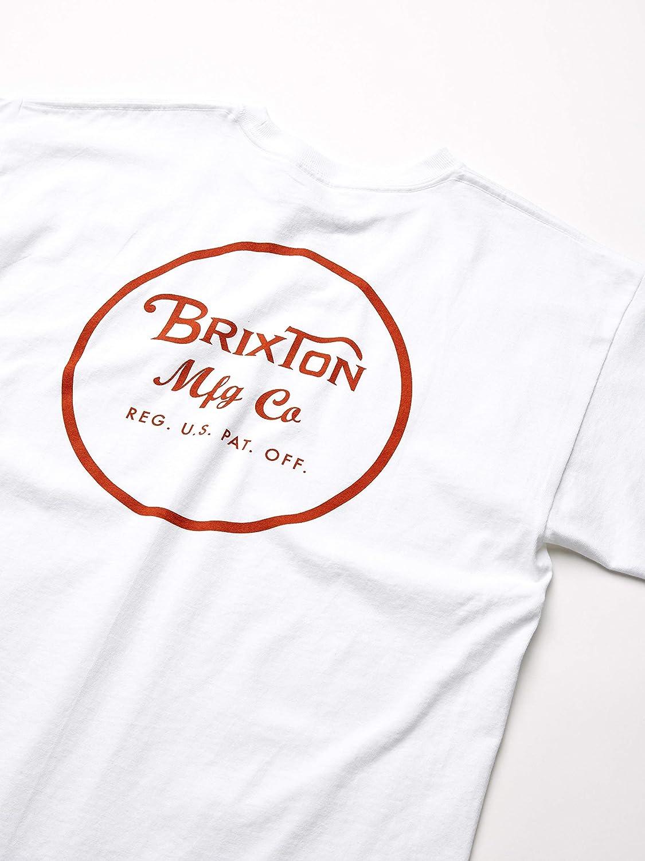 Brixton Mens Wheeler Ii Short Sleeve Standard Fit Tee