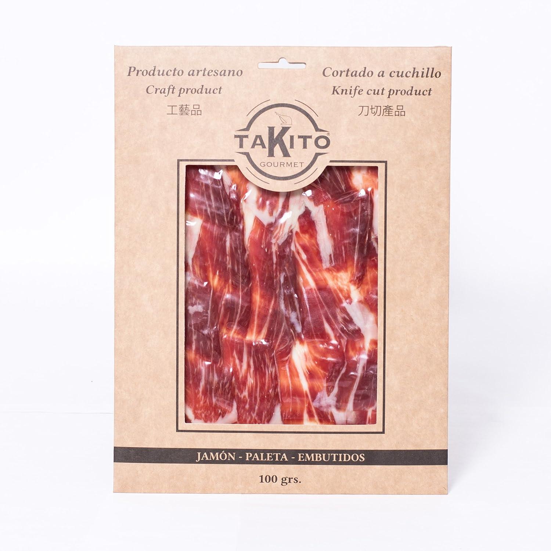 Paleta de cebo Ibérico cortado a mano con cuchillo 100 gr. TAKITO GOURMET: Amazon.es: Alimentación y bebidas