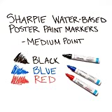 Sharpie Water-Based Medium Point Paint Markers, 3
