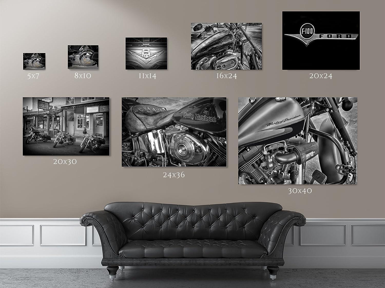 Wall decals choose an option 8x12 in 16x24 in 24x36 in - Amazon Com Harley Davidson Art Harley Davidson Gift Boyfriend Gift Man Cave D Cor Dad Gift Garage Art Harley Decor Wall Art Picture Handmade