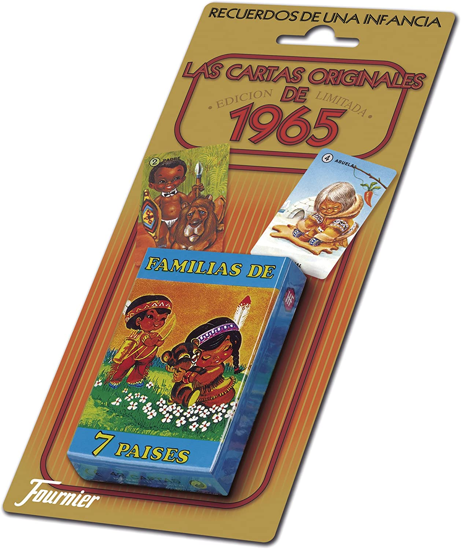 Familias De 7 Paises Las Cartas Originales De 1965 Toys Games