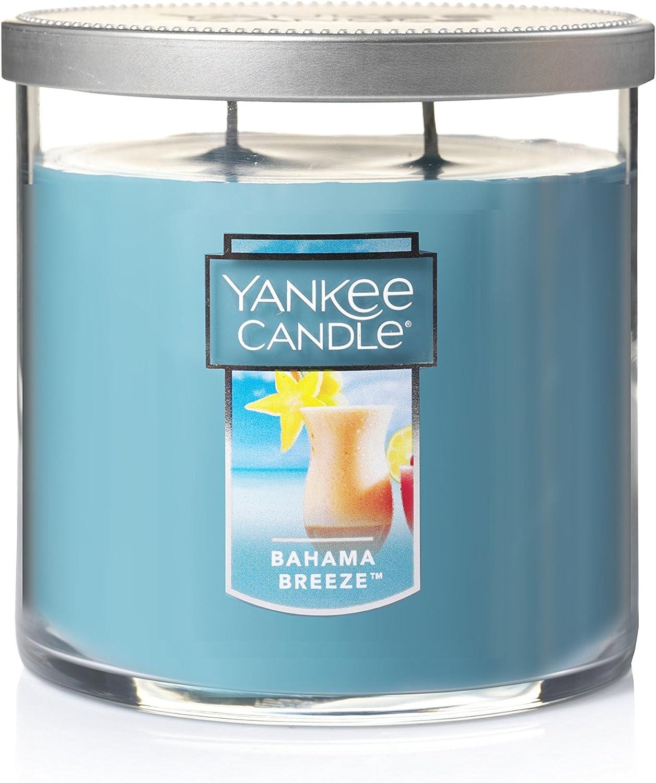 Yankee Candle Medium 2-Wick Tumbler Candle, Bahama Breeze