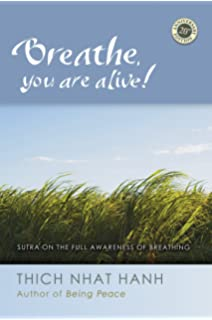 Amazon breath by breath the liberating practice of insight breathe you are alive the sutra on the full awareness of breathing fandeluxe Images