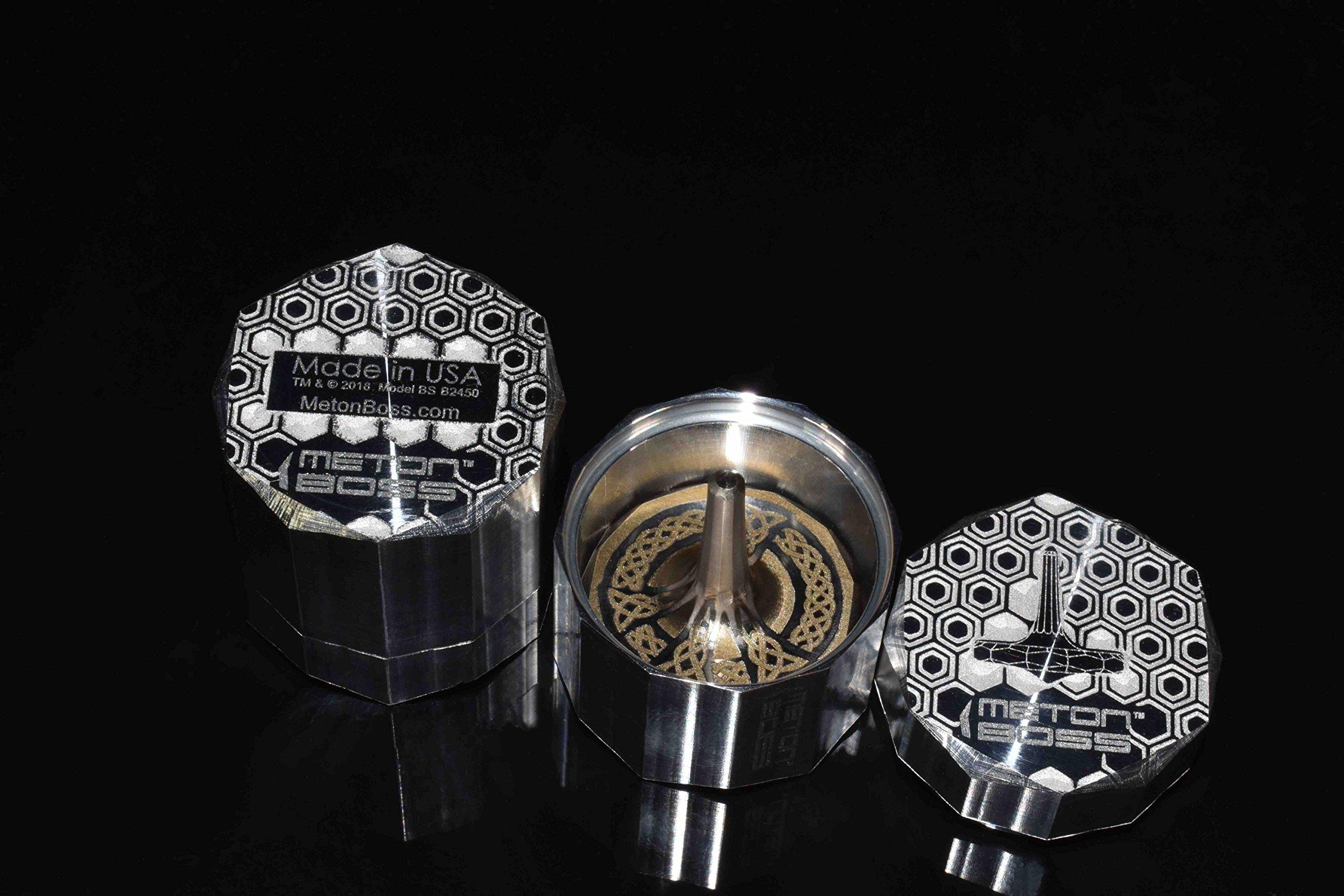 MetonBoss Nickel Top Spinner - Made with Nickel (Peace) by MetonBoss (Image #5)