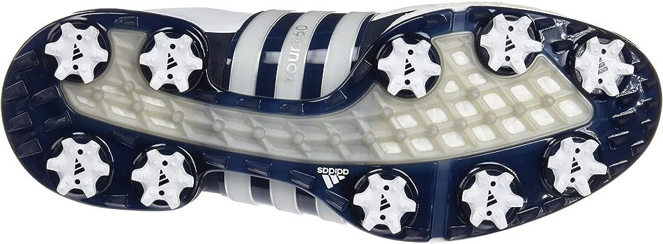 adidas Tour360 Boost Zapatos de Golf, Hombre, Blanco/Azul ...