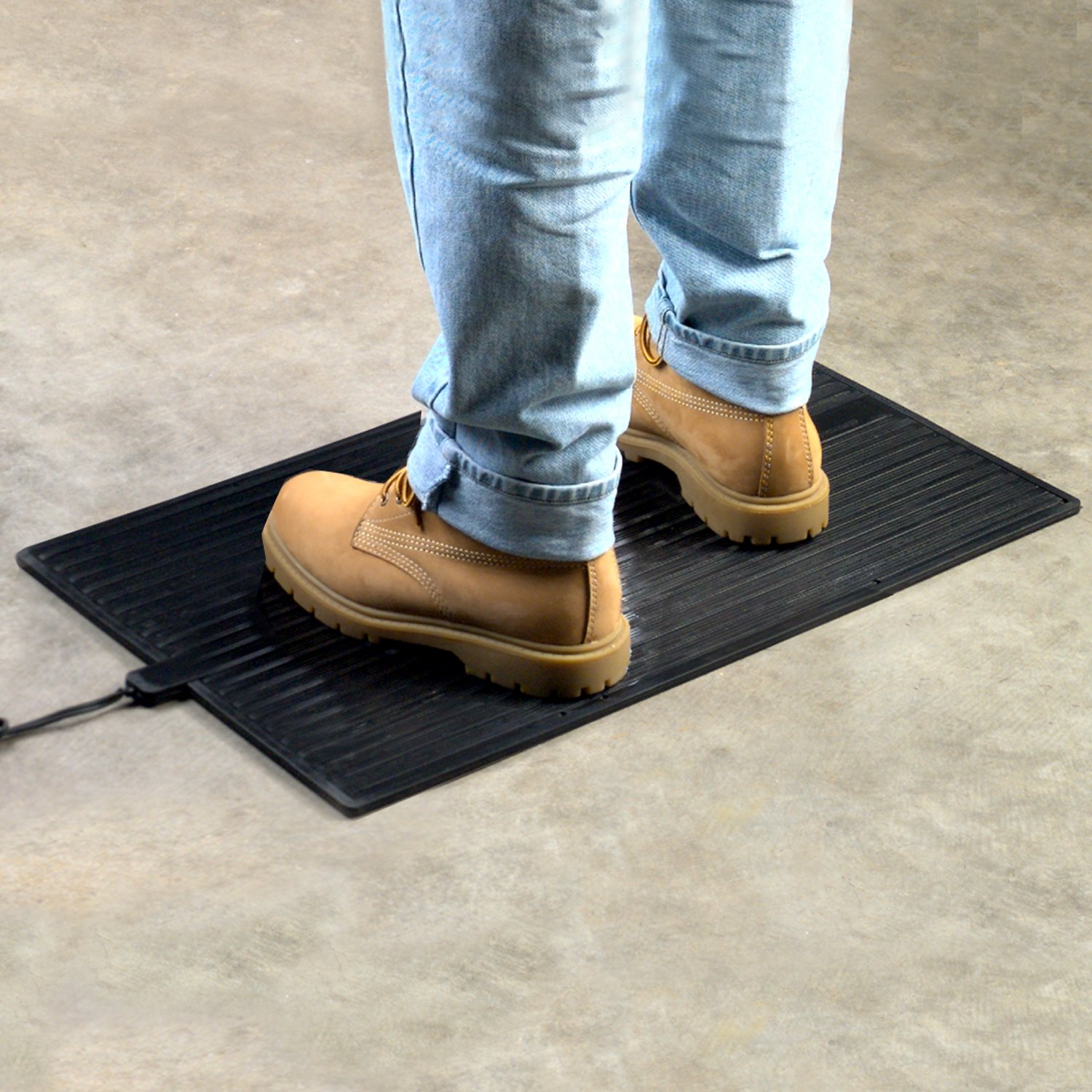 Rubber floor mats for house - Amazon Com Cozy Products Fw Foot Warmer Heated Foot Warming Mat Rubber Design Home Kitchen