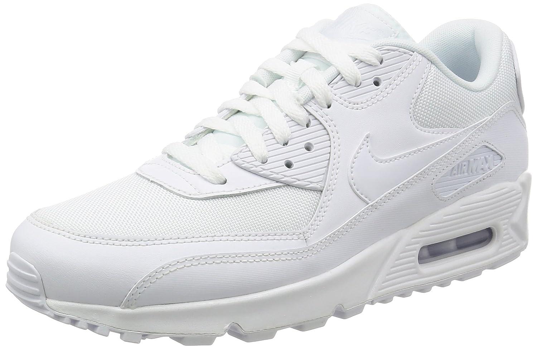 Nike Air MAX 90 Essential, Zapatillas de Running para Hombre 40 EU Blanco (White / White-white-white)