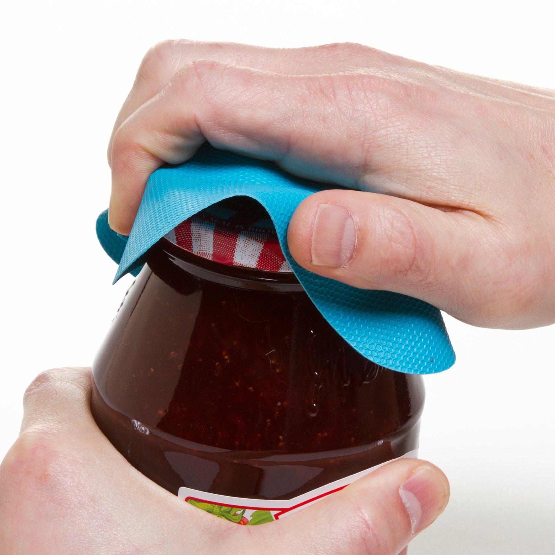 Prepworks by Progressive Jar Grips - Set of 3, GT-3236, Multi-Purpose, Bottle Openers, Jar Gripper, Lid Opener