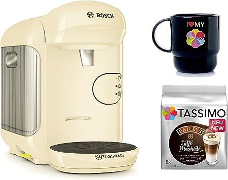Bosch Tassimo Vivy 2 + T Discos de Bailey s + Tupper Taza Cápsula eléctrica beige: Amazon.es: Hogar