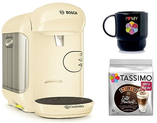 Bosch Tassimo Vivy 2 + T Discos de Bailey s + Tupper Taza Cápsula ...