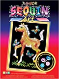 KSG Arts and Crafts Junior Sequin Art 0905 Foal Picture Kit