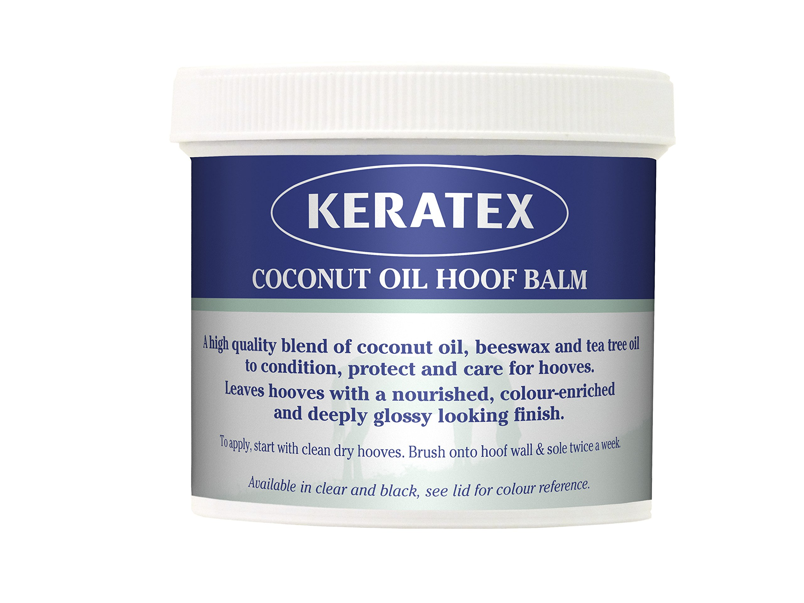 Keratex Coconut Oil Hoof Balm, 400g, Clear