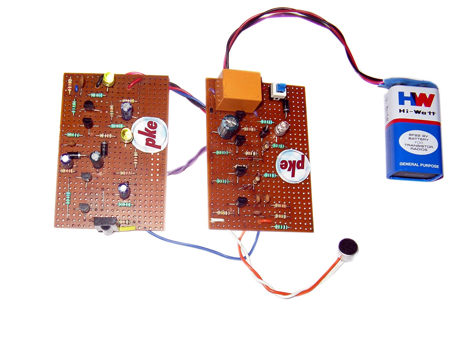 Buy Pke 2 In 1 Clap Remote Circuit Online At Low Prices Can Be Soldered On Small Veroboard The Multivibrator India Reviews Ratings