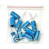 ROMTEK Electrolytic Capacitor 1000uF -25 Volt -Set of 10 Pcs