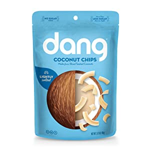 Dang Keto Toasted Coconut Chips |Lightly Salted