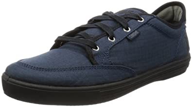 Chrome Mens Mirko Box Canvas IndigoBlack Shoe