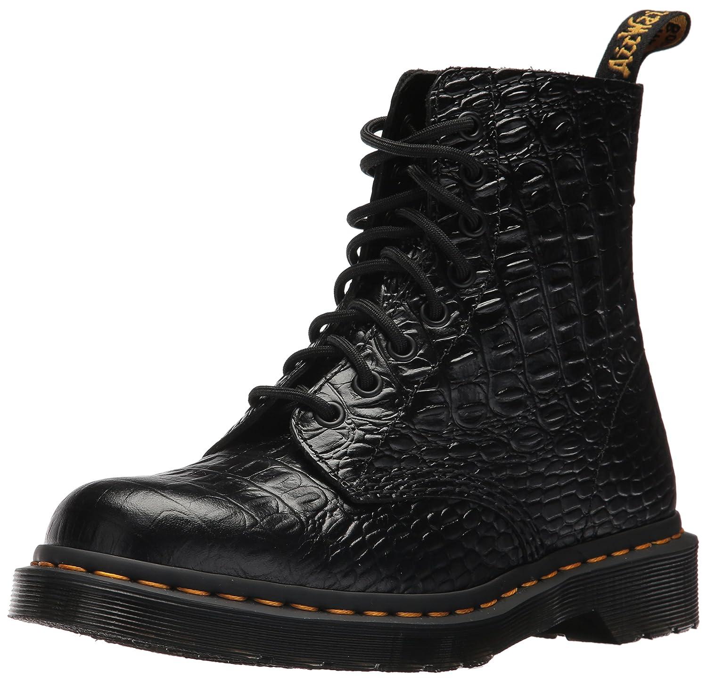 Dr. Martens Women's Pascal Croc Ankle Boot B01MT47R3T 7 Medium UK (9 US)|Black