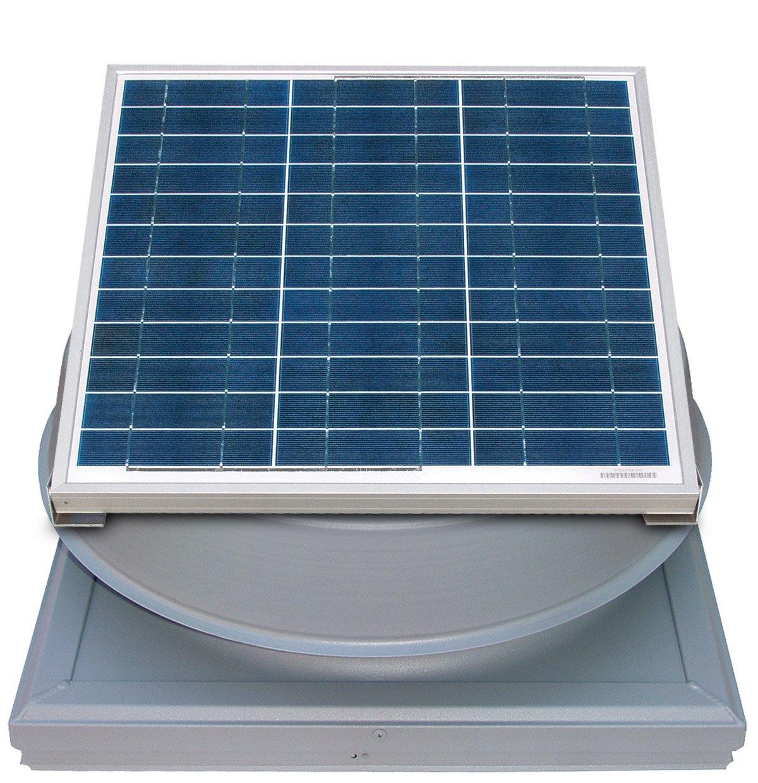 36 Watt Curb Mount Solar Attic Fan by Natural Light by Natural Light (Image #1)