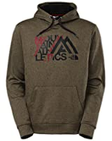 The North Face MA Graphic Surgent Hoodie Mens New Taupe Green Heather/TNF Black M
