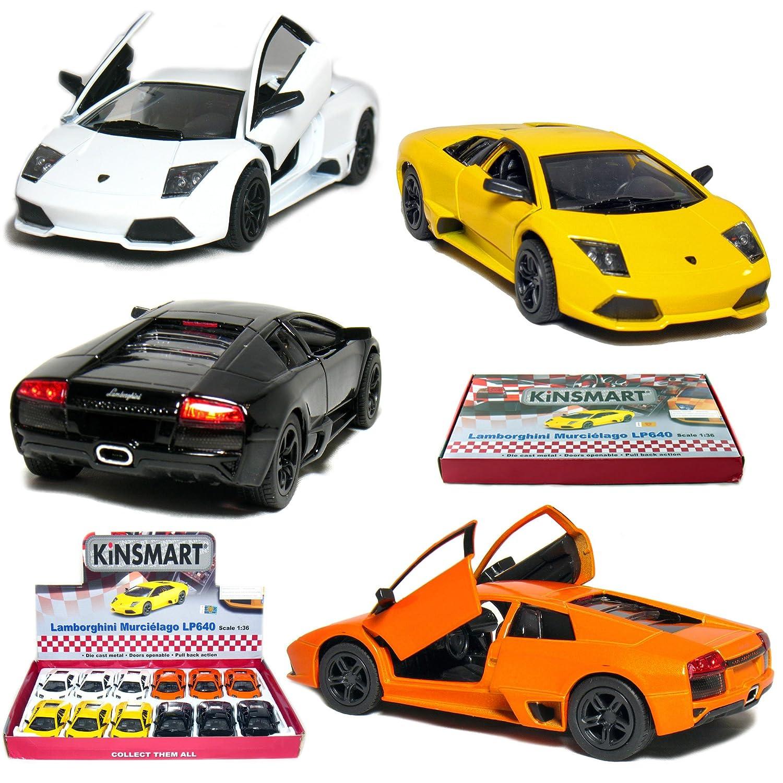 Amazon Com 12 Pcs In Box 5 Lamborghini Murcielago Lp640 1 36