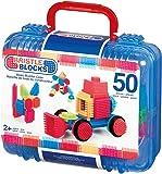 B. Toys 44261 - Bristle Blocks, 50 Teile im Koffer