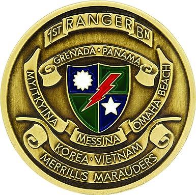 2nd Ranger Battalion Challenge Coin