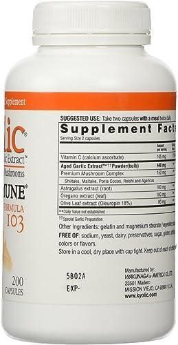 Kyolic Garlic Formula 103 Immune Formula 200 Capsule