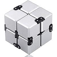 Funxim Infinity Cube Fidget kub leksak lämplig för vuxna och barn, fidget finger leksak stress och ångestlindring, dödar…