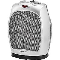 Deals on AmazonBasics 1500W Oscillating Ceramic Heater w/Thermostat