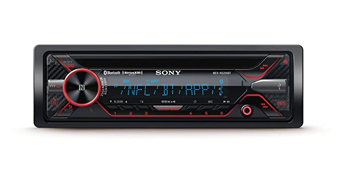amazon com sony mex n5200bt cd receiver with bluetooth external rh amazon com