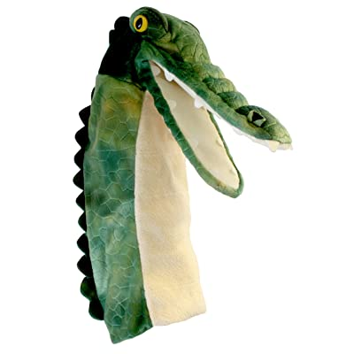 The Puppet Company Long-Sleeves Crocodile Hand Puppet: Toys & Games