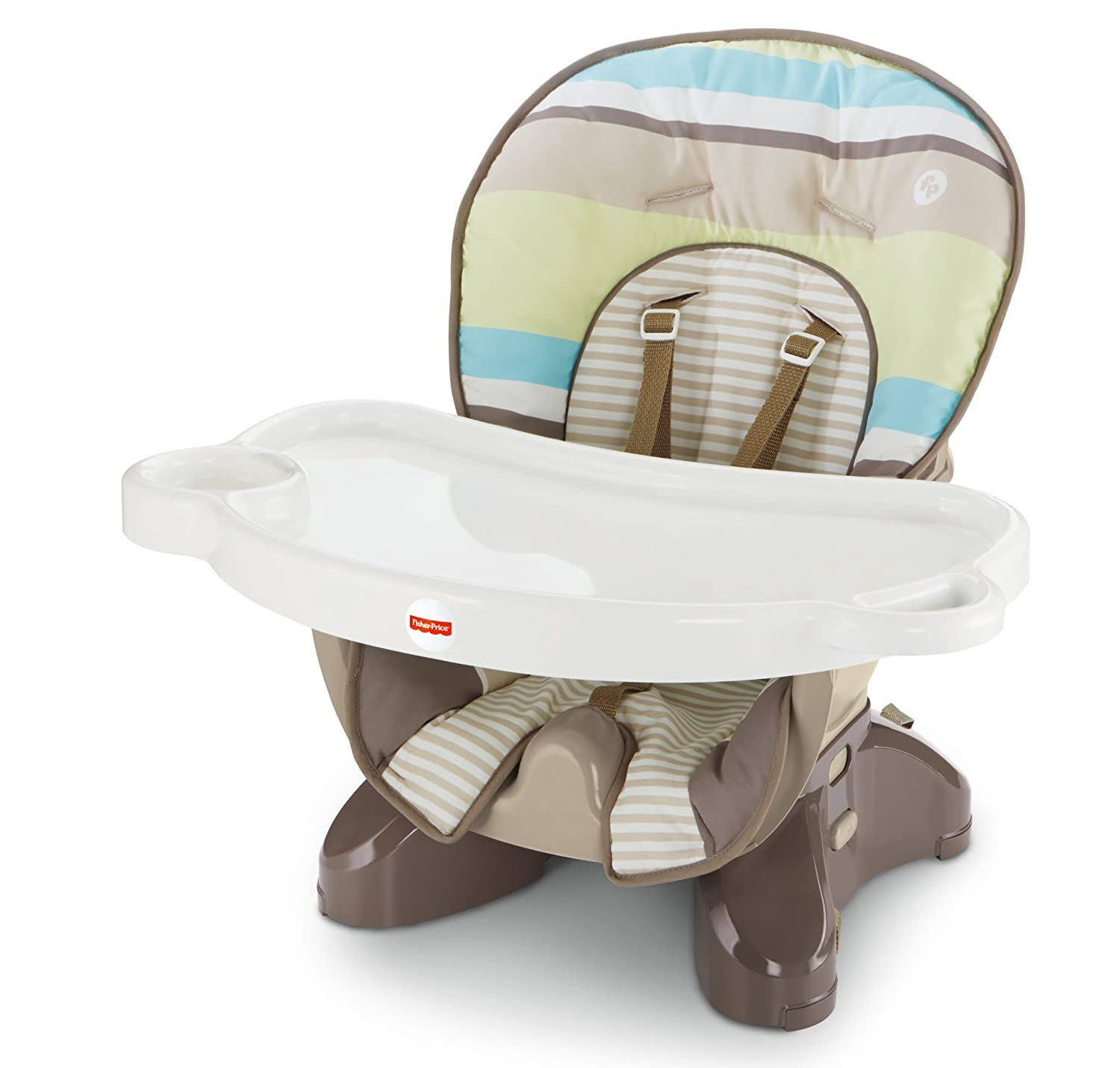 Amazon Fisher Price SpaceSaver High Chair Stripes Childrens