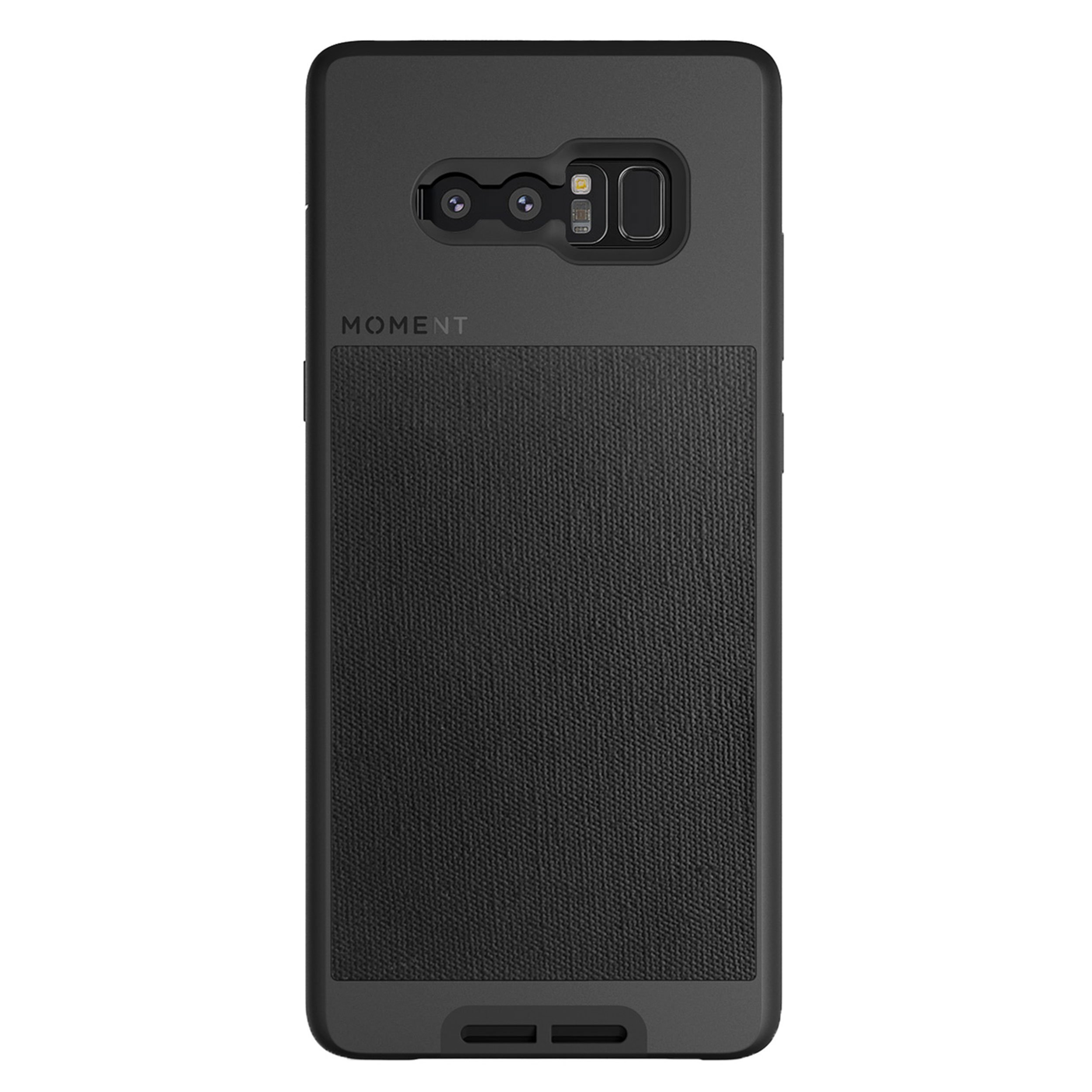 ویکالا · خرید  اصل اورجینال · خرید از آمازون · Galaxy Note 8 Case || Moment Photo Case in Black Canvas - Thin, Protective, Wrist Strap Friendly case for Camera Lovers. wekala · ویکالا