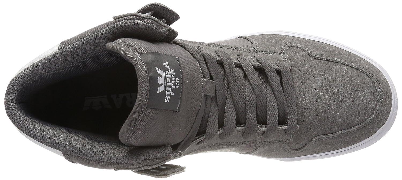 Supra Sneaker Vaider LC Sneaker Supra B074KHWZWM 8 M US|Charcoal-white f6ae4f