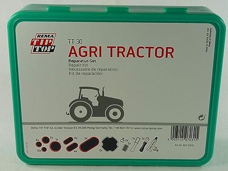 Rema Tip Top Schlauch Reparatur Set Sortiment Tt 30 Agri Tractor 507031 Auto