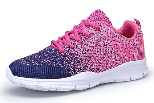 sale retailer bfcd9 6082e KOUDYEN Donna Scarpe da Ginnastica Sneakers Respirabile Mesh  all aperto,XZ746-W-