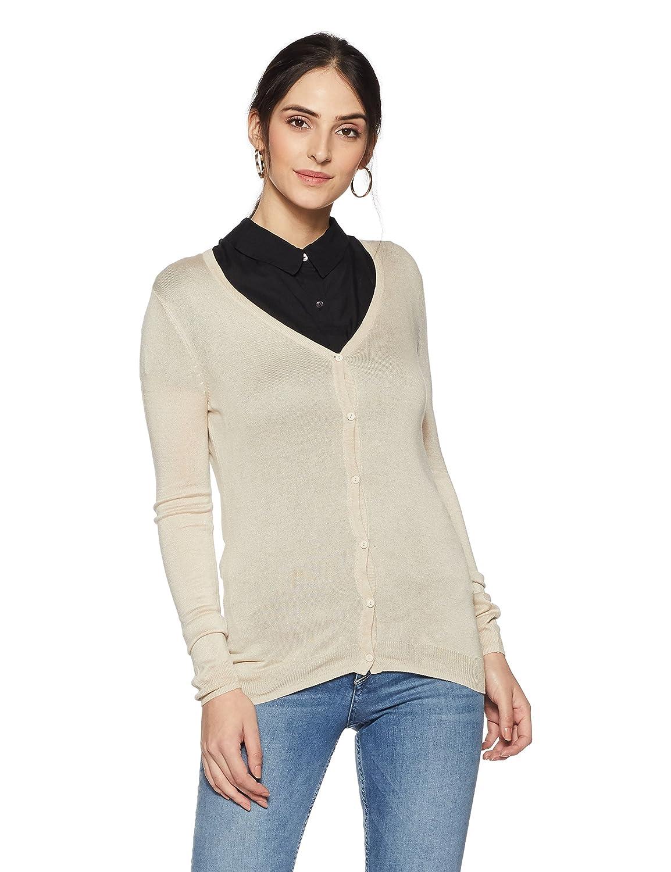VERO MODA Women's Sports Knitwear (10176936_Oatmeal_S)