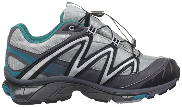 Amazon.com | Salomon Womens XT Wings 2 GTX Trail Running Shoe, Light Onix/Dark Cloud/Dark Bay Blue, 5.5 M US | Trail Running