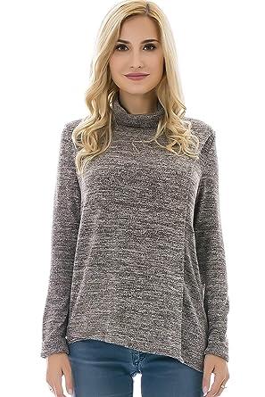 4579ee4ecbc85 Bearsland Women s Maternity Clothes Comfy Long Sleeves Breastfeeding Shirts  and Nursing Tops