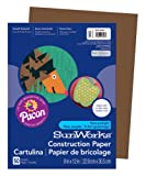 "Amazon Price History for:Pacon SunWorks Construction Paper, 9"" x 12"", 50-Count, Dark Brown (6803)"