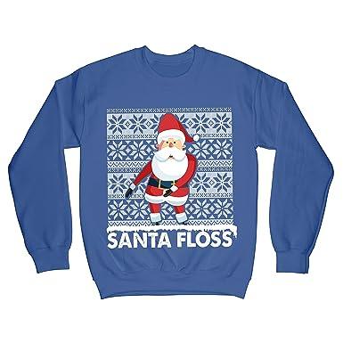 Flossing Santa Fortnite Inspired Funny Christmas Sweatshirt 9 11