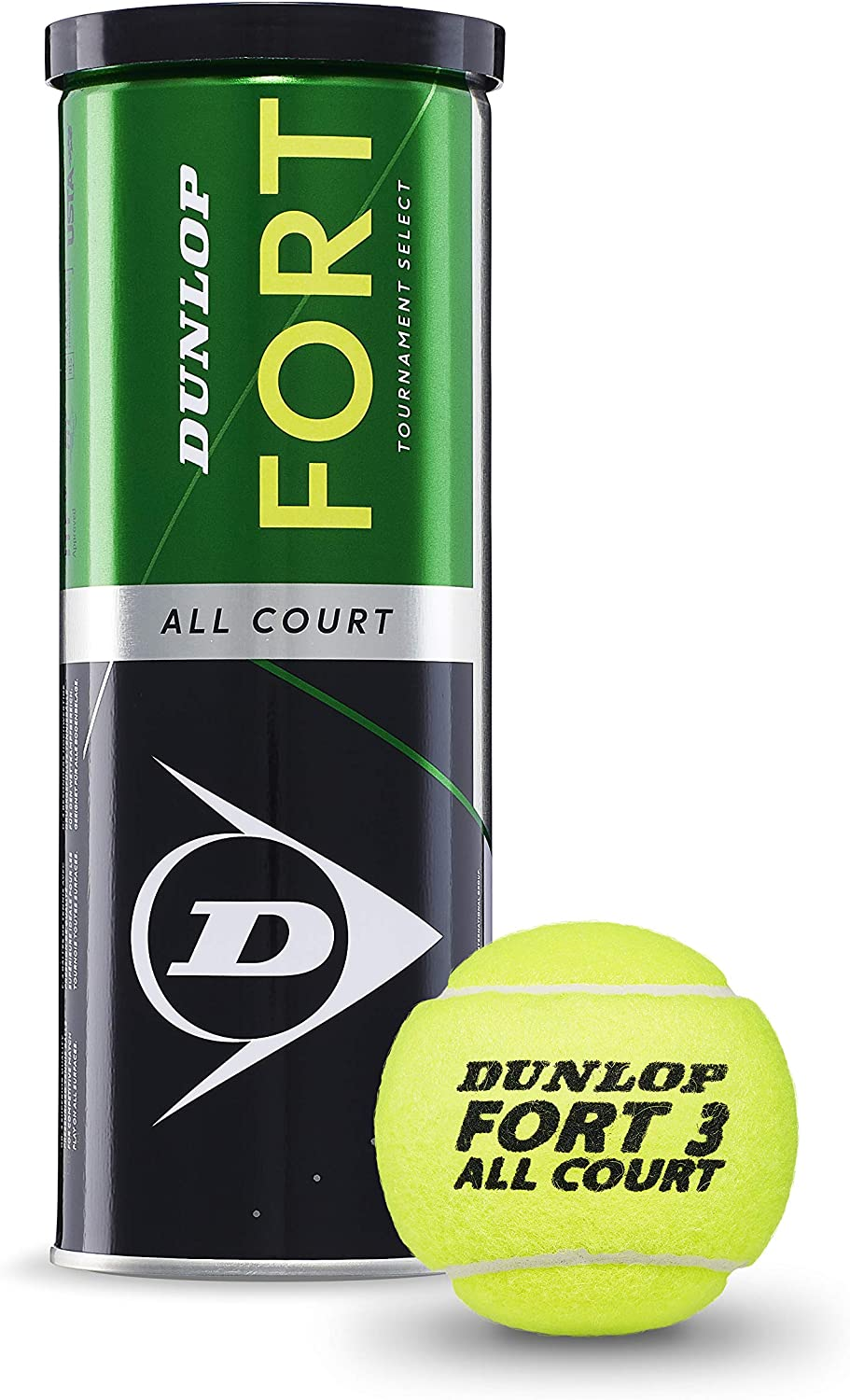 Dunlop Pelotas Tenis Fort All Court 3u: Amazon.es: Deportes y aire ...