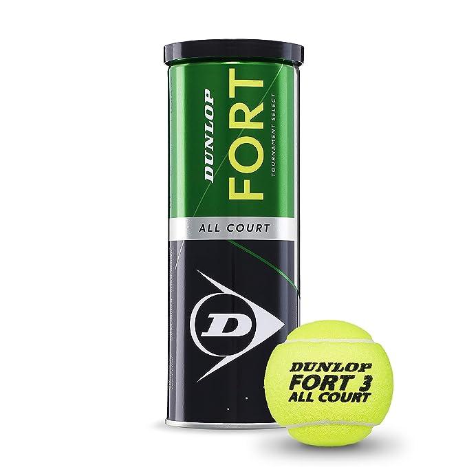 DUNLOP Pelotas Tenis Fort All Court 3u: Amazon.es: Deportes y aire ...