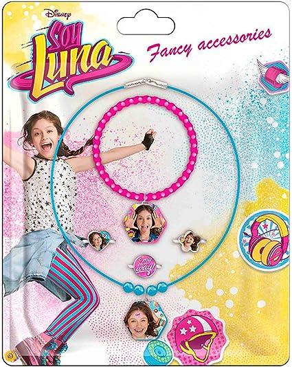 SOY LUNA DISNEY - Soy Luna WDSL062. Set de collares, pulsera y anillos: Amazon.es: Juguetes y juegos